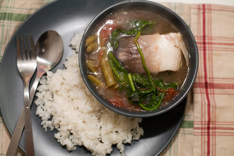 Sinigang Na Bangus Stewed Milkfish In Tamarind Cannot Cook