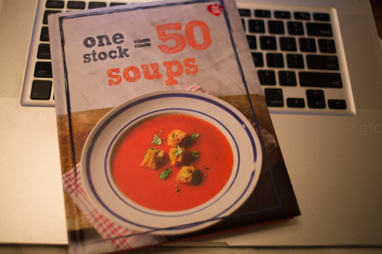 one stock=50 soups book