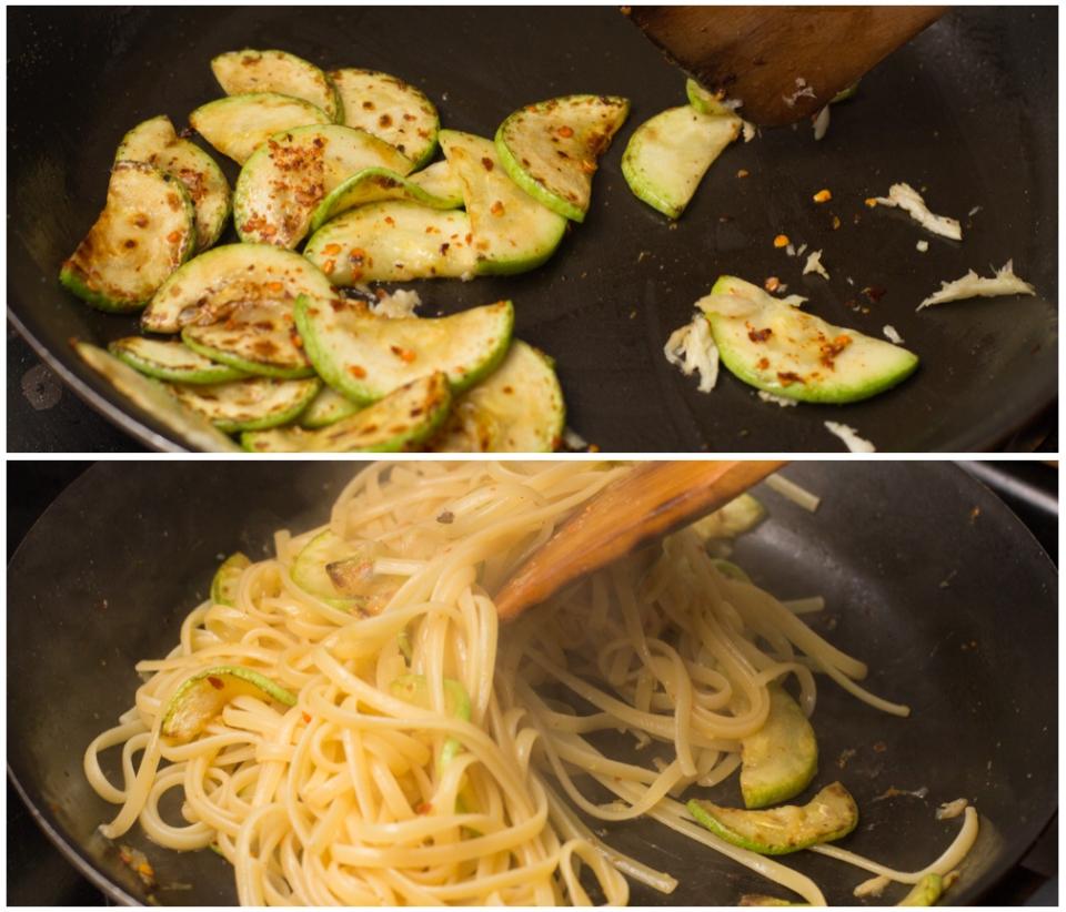 Zucchini Linguine