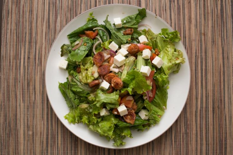 Greek Chorizo Salad-1788